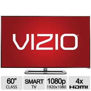 "Vizio M602I-B3 60"" 1080p Full-Array LED Smart TV"