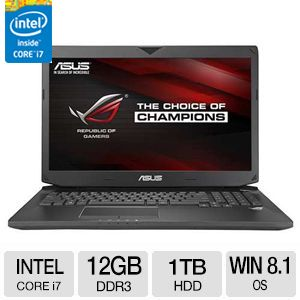 "ASUS ROG 17.3"" Notebook - G750JM-DS71"