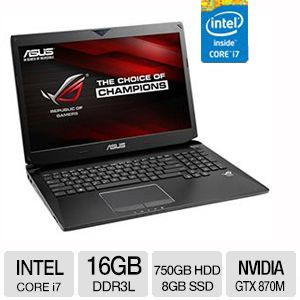 "ASUS ROG 17.3"" 4700 HQ Blu-Ray 16GB Gaming Laptop"