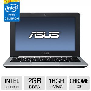 "ASUS C200MA 11.6"" Chromebook - C200MA-DS01"