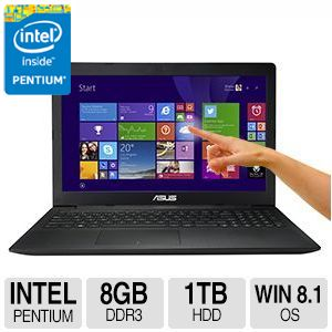 "ASUS Intel® Quad-Core 1TB HDD 15.6"" Notebook"