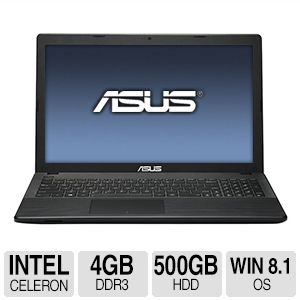 ASUS 15.6&quot; HD Dual Core<br>4GB DDR3 Notebook