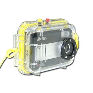 Vivitar ViviCam 5188 in Waterproof Case Digital Ca