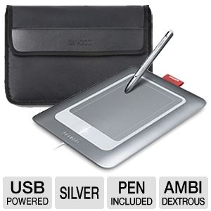 Wacom Bamboo Creative Memories & Carry Case Bundle
