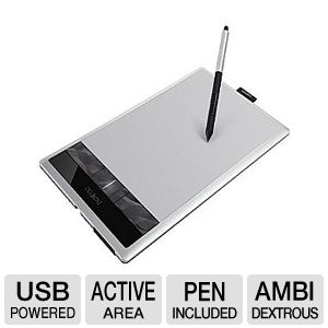 Wacom CTH670 Bamboo Create Pen Tablet