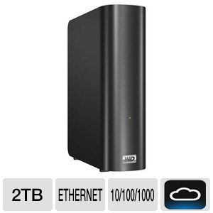 WD My Book Live 2TB Personal Cloud Storage Nas