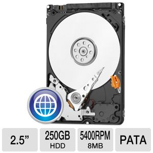 WD Blue 250GB Mobile Hard Drive