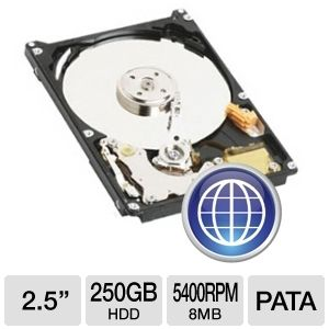 Western Digital Scorpio Blue 250GB Mobile H REFURB