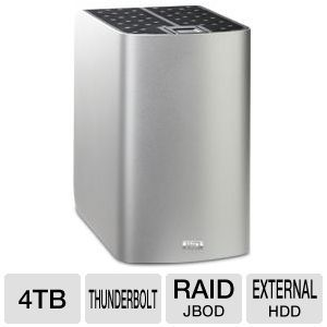 WD My Book Thunderbolt Duo 4TB Hard Drive