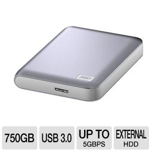 WD My Passport Essential SE Hard Drive 750G REFURB