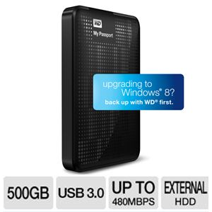 WD My Passport Essential 500GB HDD