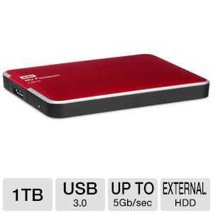 WD My Passport Ultra 1TB Portable Drive