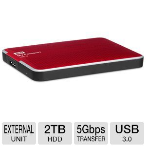 WD My Passport Ultra 2TB Portable Drive