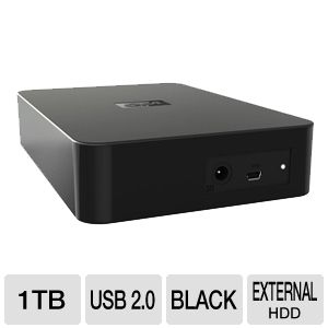 Western Digital Elements 1TB External Hard  REFURB