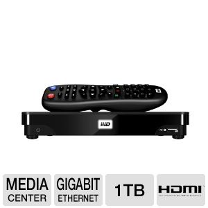 WD TV Live Hub 1TB Media Center