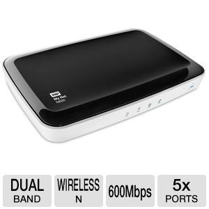 WD My Net N600 HD Dual-Band Router