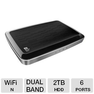 Western My Net N900 HD Dual-Band Storage Router