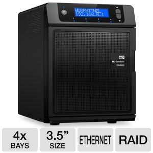 WD Sentinel DX4000 4TB Storage Server