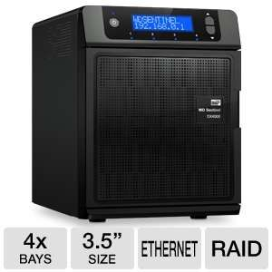 WD Sentinel DX4000 8TB Storage Server