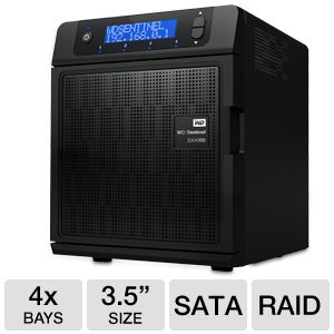 WD Sentinel DX4000 16TB Storage Server