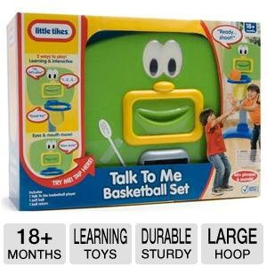 Little Tikes Talk To Me Basketball Set