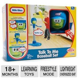 Little Tikes Talk To Me Baseball Set