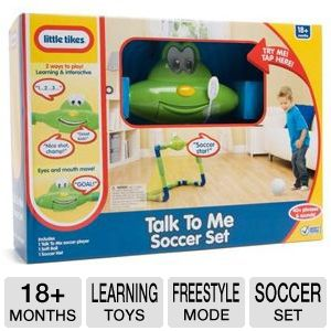 Little Tikes Talk To Me Soccer Set