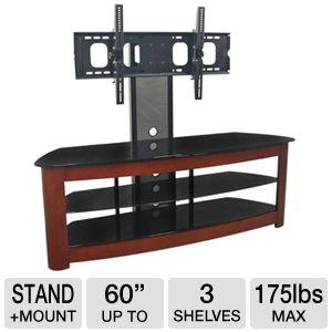 Walker Edison TD60MWF Stand with Mount up to 60&quot;TV