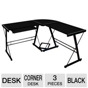 Walker Edison 3-Piece Soreno Corner Desk