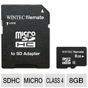 Wintec FileMate 8GB microSDHC Card