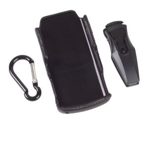 Wireless Solutions 333157 Leather Clip-On Case