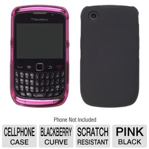 Wireless Solutions Hybrid Snap-On Case - Pink/Blk