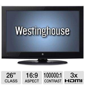Westinghouse CW26S3CW 26&quot; 720p LCD HDTV