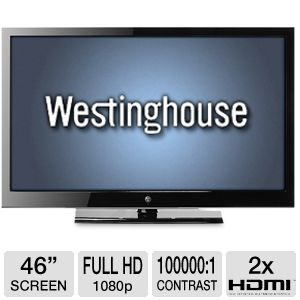 "Westinghouse LD-4695 46"" 1080p 120Hz LED HDTV"