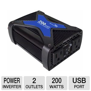 Whistler PRO-200W 200-Watt Pro Power Inverter