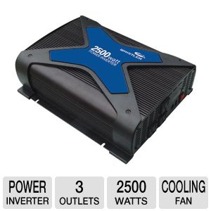 Whistler PRO-2500W Pro Power Inverter
