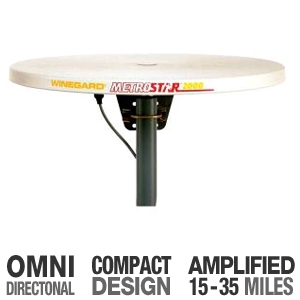 Winegard Ms-2000 Metrostar Omni-Directional Amplif