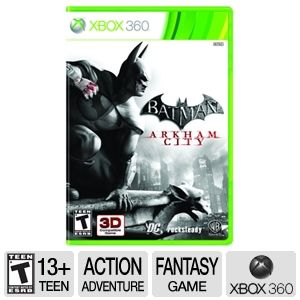 Batman: Arkham City Action Video Game - Xbox 360