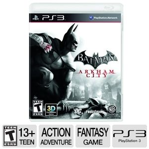 Batman: Arkham City Action Video Game - PS3