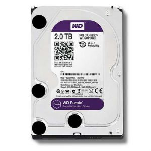WD Purple 2TB Surveillance Hard Drive - 150393