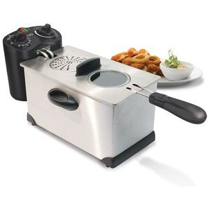 CuiZen 3.5 qt Immersion Deep Fryer