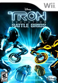 Tron: Evolution Battle Grids Wii
