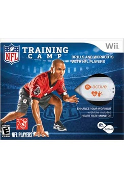 EA Sports 16915 Wii Active NFL Trainer Bundle