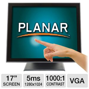 "Planar PT1745P 17"" LCD Touch Screen Monitor"