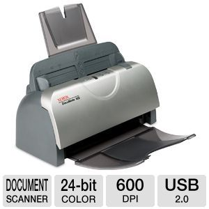 Xerox Documate 162 Document Scanner 25 ppm/50 ipm