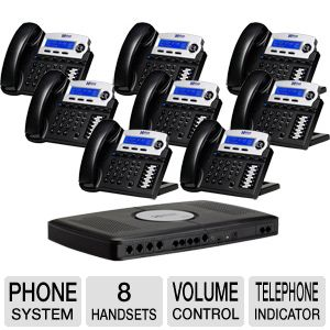 Xblue Networks X16 Phone System (8-Pack)