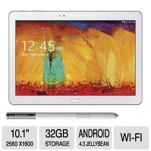 Samsung Galaxy Note 10.1 2014 Edition White Tablet