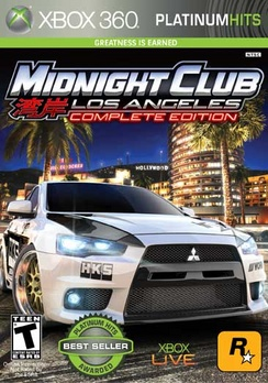 MIDNIGHT CLUB LA COMPLETE EDITION PLATINUM HITS