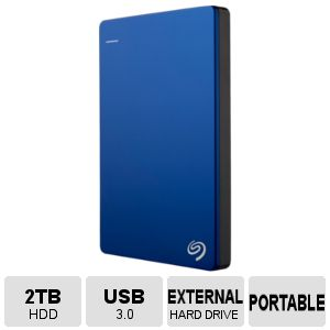 Seagate 2TB Backup Plus Portable Hard Drive