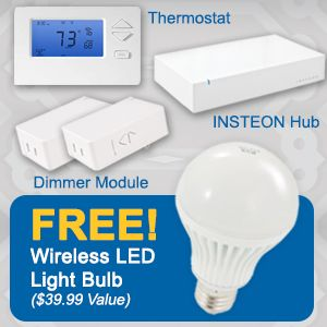 Home Automation Comfort Kit & Free LED Bulb